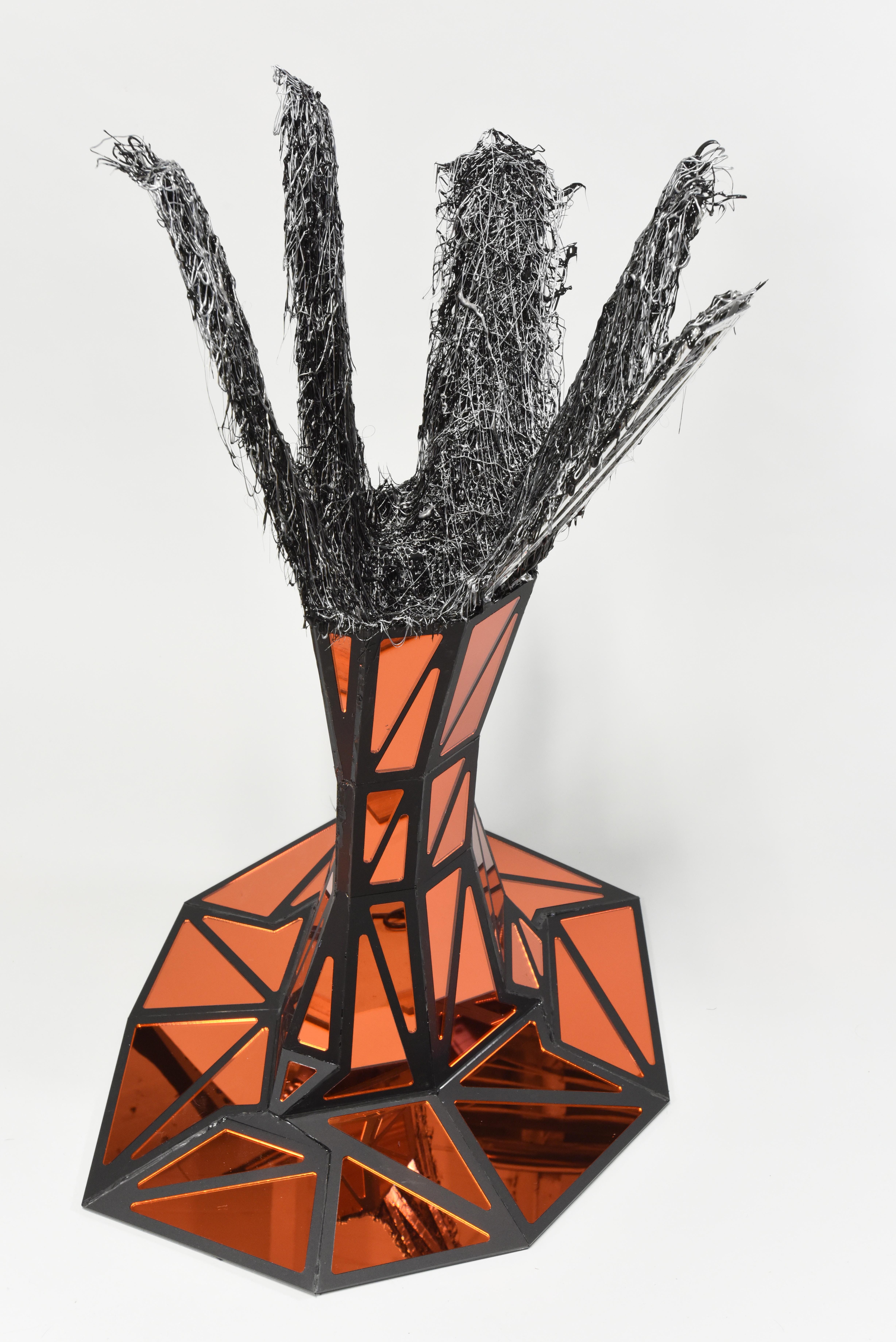 Melt Up (2018) by Stephen Hendee, sculpture