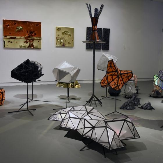 hendee firmament sculpture installation